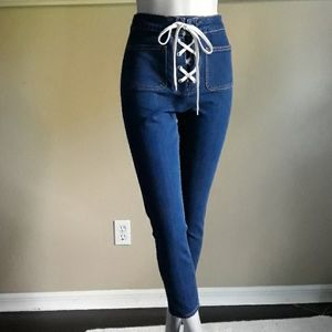Zara Trafaluc Collection Skinny Ankle Jeans size 4